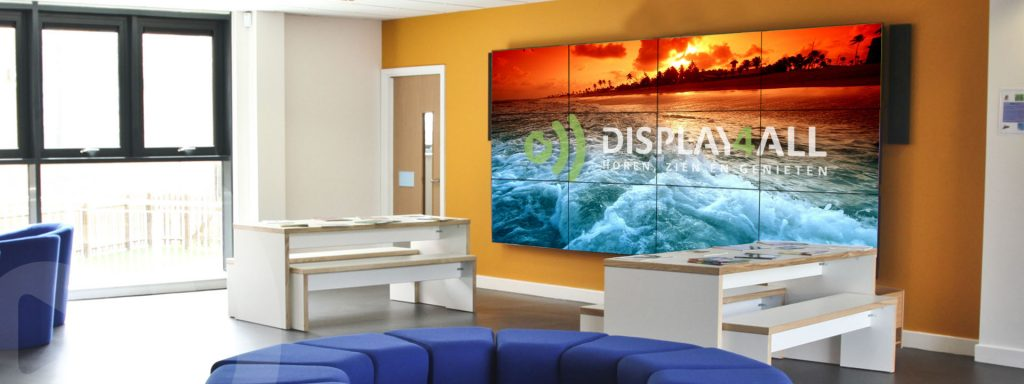 videowall van Display4All